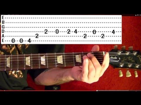 BEAT IT - Michael Jackson - Guitar Lesson