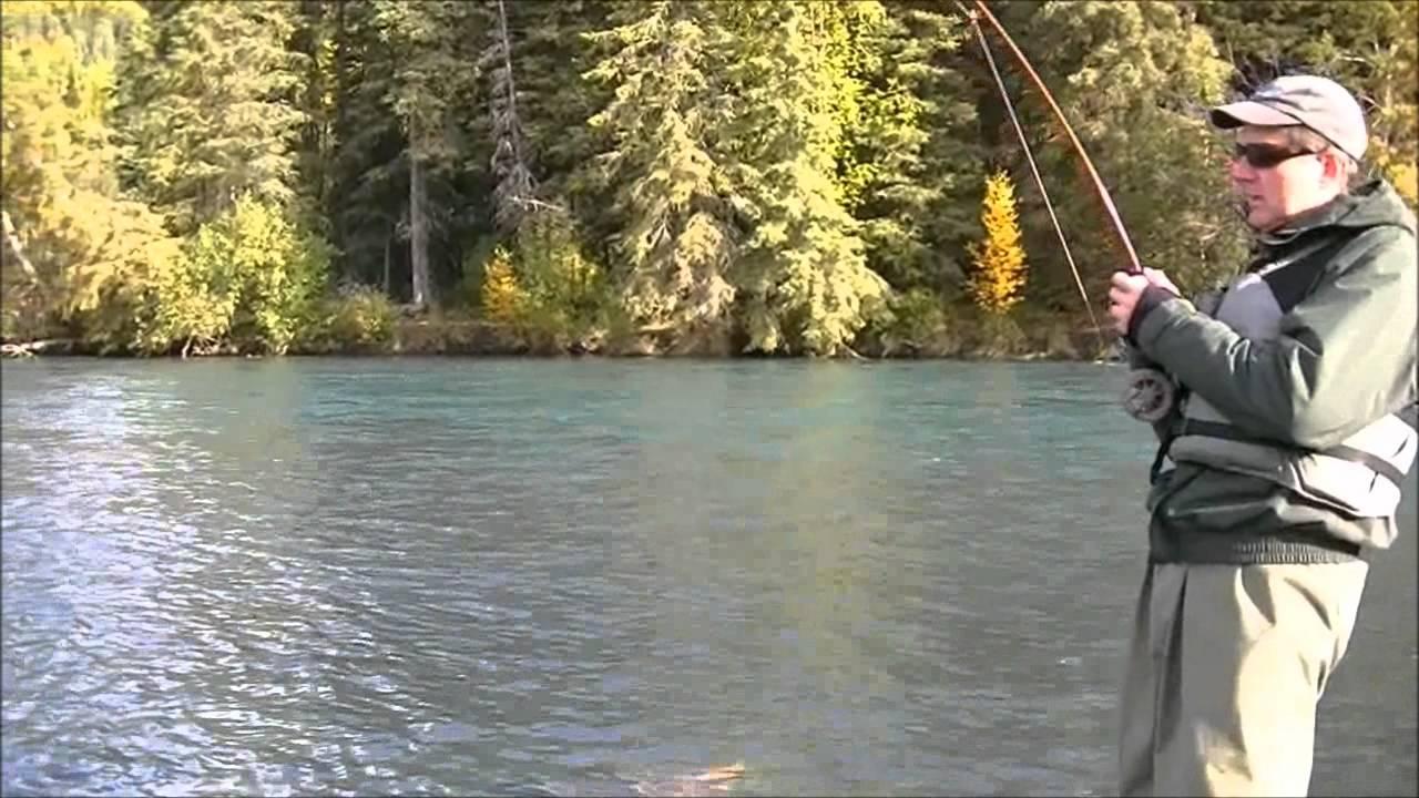 Fishing the kenai with alaska troutfitters youtube for Kenai river fish counts