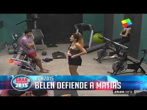"""Belén afianza la unión con Matías: """"Lo quiero bancar"""