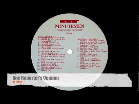 Minutemen - Anxious Mofo
