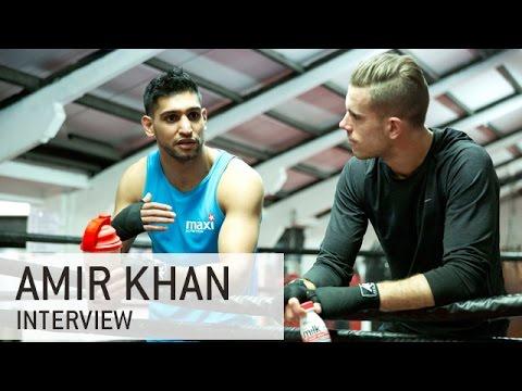 Jordan Henderson interviews Amir Khan
