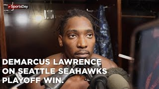 DeMarcus Lawrence speaks on Cowboys playoff win over the Seattle Seahawks