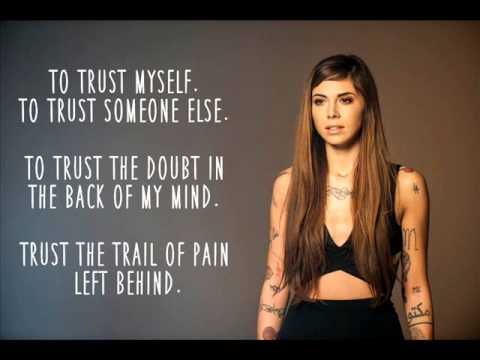 Trust (Lyric Video) - Christina Perri