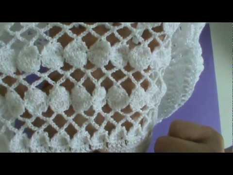 Cách móc khăn len mỏng cho nữ