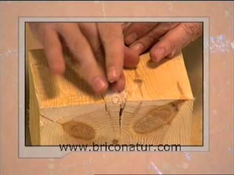 Barra reparadora madera esencial en bricolaje youtube - Como arreglar puertas de madera ...