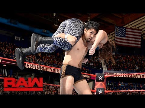 Hideo Itami vs. The Brian Kendrick: Raw, Dec. 25, 2017