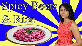 Spicy Beets and Rice