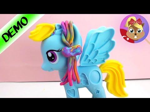 Play Doh Türkçe My Little Pony Oyun Hamuru Seti Rainbow Dash - Oyun Hamuru ile Saç Modelleri