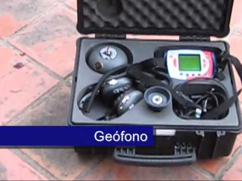 Sistemas y maquinaria para fugas de agua youtube - Detector de tuberias de agua ...