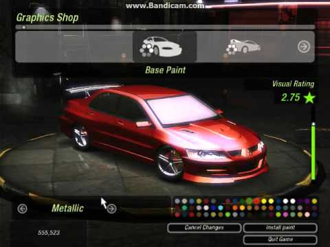 How to make Brian's Mitsubishi Lancer EVO VIII from 2fast- 2furious