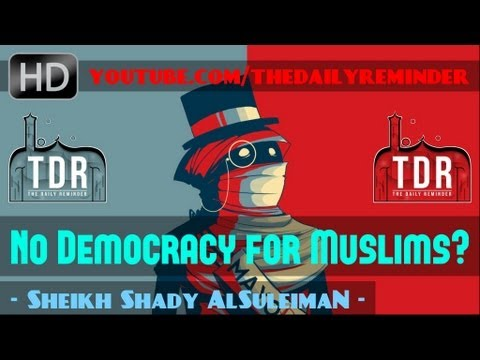 No Democracy for Muslims? ᴴᴰ ┇ Powerful Speech ┇ by Sheikh Shady AlSuleiman ┇ The Daily Reminder ┇