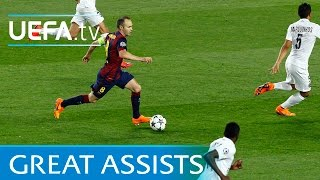 Great skills from Mata, Ronaldinho, Bergkamp & more: 6 great assists