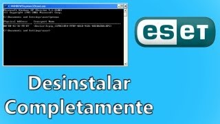Desinstalar Eset Smart Security 4, 5, 6, 7, 8, 9 y 10 Bloqueados