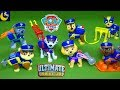 Paw Patrol Toys Ultimate Rescue Police Pups Policeman Chase Fireman Marshall's Fire Truck Toys Video