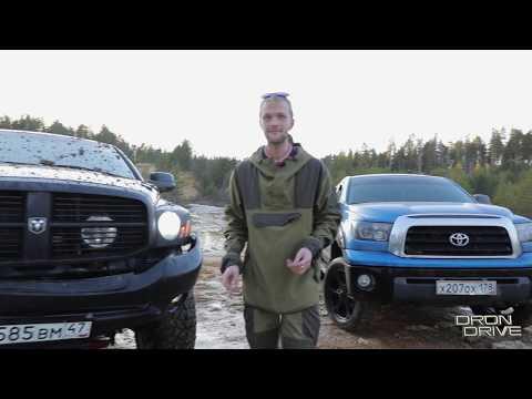 Это жесть! Toyota Tundra сломала Dodge RAM 2500 5.7 Hemi