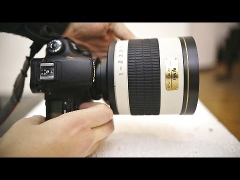 Weird lens reviews: Samyang 800mm f/8 Mirror. & 2x telecoverter (with samples)