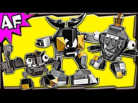 Lego Mixels CRAGSTERS Series 1: Krader. Seismo & Shuff 41503 41504 41505 Animated Building Review