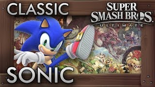 Super Smash Bros. Ultimate: Classic Mode - SONIC - 9.9 Intensity No Continues