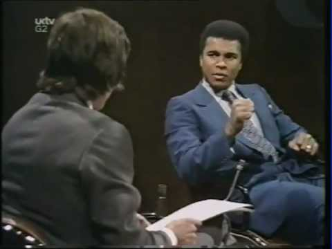Muhammad Ali on Black & White
