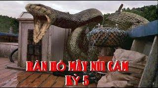 Rắn tu luyện thành tinh: Kỳ 5: Lão kỳ nhân cả đời sống giữa bầy rắn khổng lồ