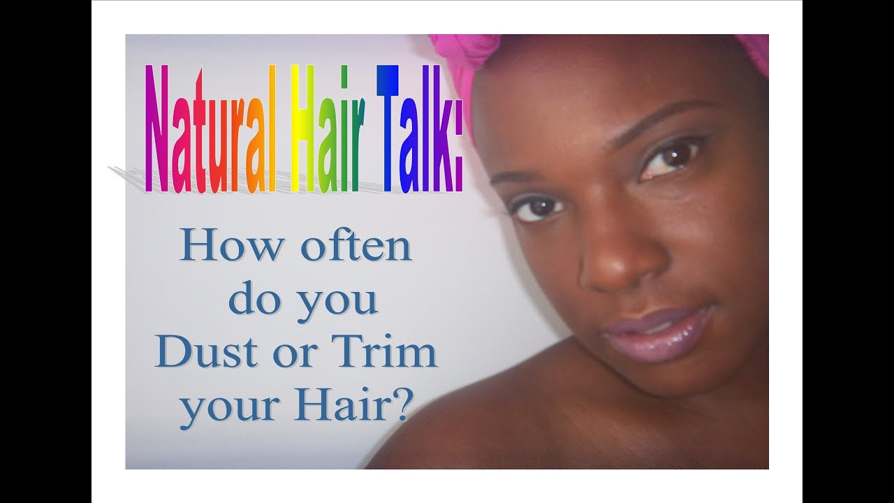 How Often Do You Trim Natural Hair