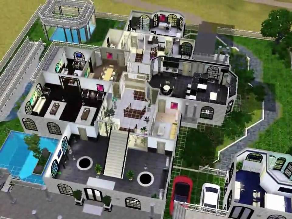 Plan Maison Sims 3 Moderne. Plan Images Plan Symbols And Colour ...