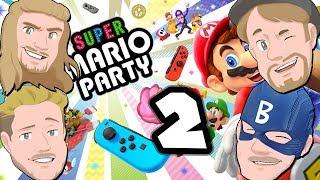 Hela Mustachtic spelar - Super Mario Party På Svenska - Del 2: Guld tuben!