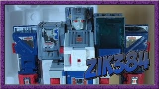 Transformers Encore 23 - Fortress Maximus распаковка