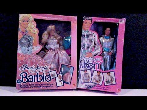 BARBIE THROWBACK! - BARBIE AND KEN JEWEL SECRETS DOLLS - DOLL REVIEWS