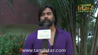 Abhishek At Yaathumagi Nindrai Movie Press Meet