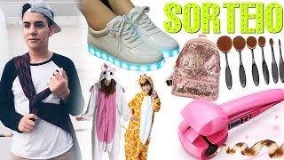 SORTEIO: Tênis de LED, Pijama de bichinho e muito +