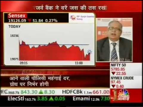Siddharth Shankar, Advisor to KASSA on RBI Credit Policy, Sauda Aapka CNBC Awaaz, Jun 17, 2013