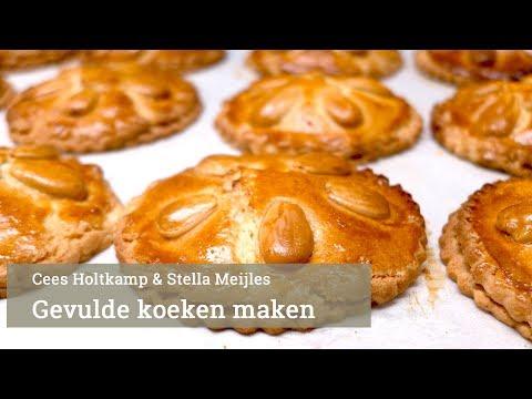 Cees Holtkamp maakt gevulde koeken