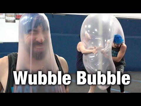 Crazy Wubble Bubble Parkour Pop (Explodes in slow motion!)