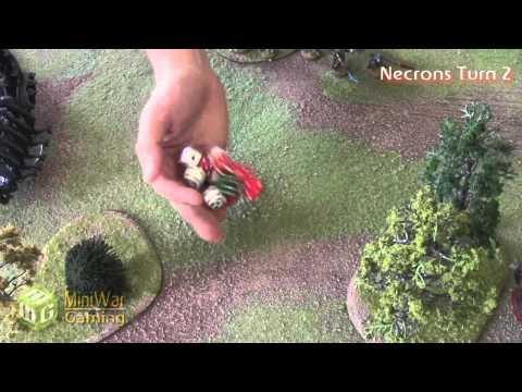 Necrons vs Orks Warhammer 40k Battle Report - Beat Matt Batrep - Part 2/4
