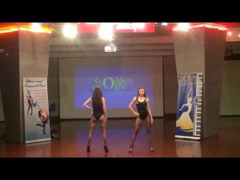 """Танцевальный фестиваль """"Golden people"""" Go Go dance."""