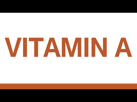 VITAMIN A - NATURAL FOODS - BENEFITS OF WELLNESS