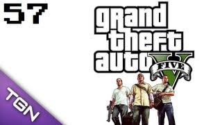 Grand Theft Auto V - PS3 [HD] #57 Mit Karacho ♣ Let's Play GTA V | GTA 5 ♣