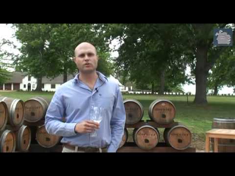 Video over wijnhuis Dornier in Stellenbosch Zuid Afrika