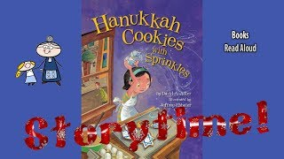 HANUKKAH COOKIES WITH SPRINKLES Read Aloud ~ Hanukkah Stories for Kids ~ Jewish Holiday Books