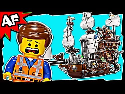 MetalBeard's SEA COW SHIP 70810 The Lego Movie Animated Building Review