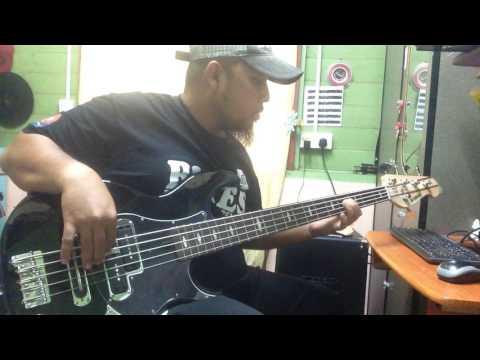 Eleena Harris Feat. Mark Adam - Hanya Dirimu Bass Cover