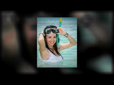 Selena Gomez Bikini and Snorkel Fun thumbnail