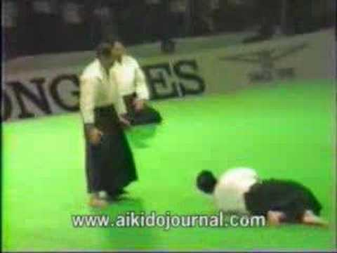 Daito ryu aikijutsu China demonstration 1985 Image 1