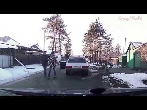 ДРАКИ 2015. Драки на дорогах, быдло на дороге!