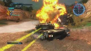 Earth Defense Force 5 WEAPON FARMING Mission: 86 *INFERNO Difficulty* Online Co Op Air Raider Class