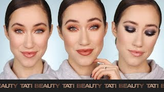 I Did 3 Looks Using Tati's Palette