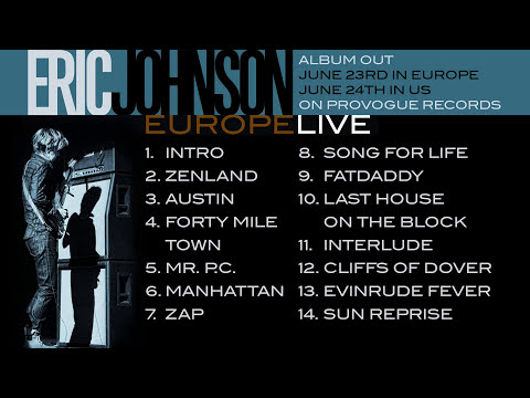 Eric Johnson - Europe Live - Album Teaser