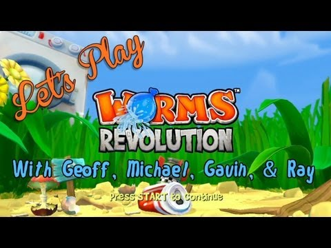 Let's Play - Worms Revolution - Smashpipe Games Video