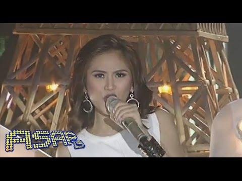 Sarah Geronimo Sings 'bang Bang' On Asap video